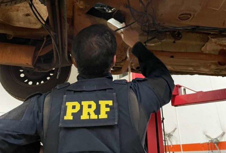 Em fiscalização na BR-267, polícia apreende pasta-base de cocaína avaliada em R$ 3,5 milhões