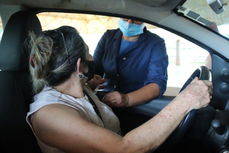 Dourados tem 15% da população imunizada com as duas doses de vacinas contra a Covid-19