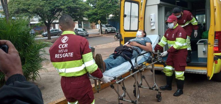 Homem é baleado durante tentativa de assalto em Dourados