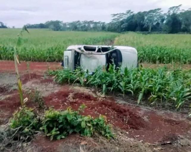 Douradense morre após capotar carro na MS-470